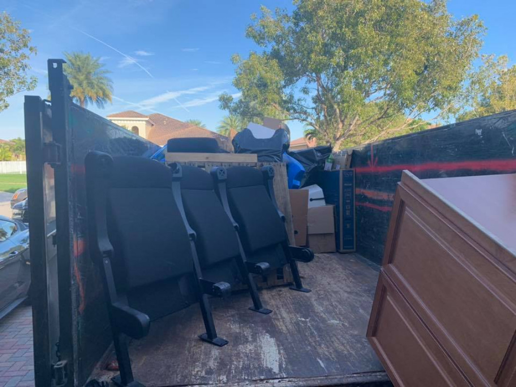 Residential Junk Removal in Davie, Weston, Fort Lauderdale & Pembroke Pines, FL